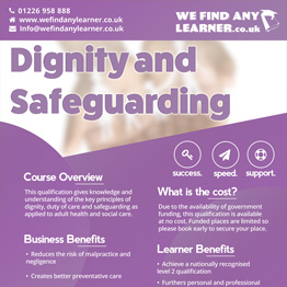 Dignity and Safeguarding