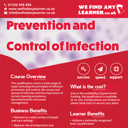 Prevention and Control of Infection